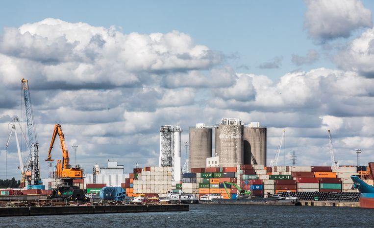 De haven van Antwerpen. Beeld Bas Bogaerts
