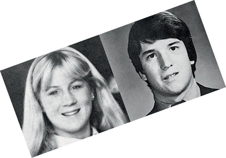Christine Blasey Ford en Brett Kavanaugh. De studie van De Zutter kwam ook aan bod in de zaak-Kavanaugh.  Beeld