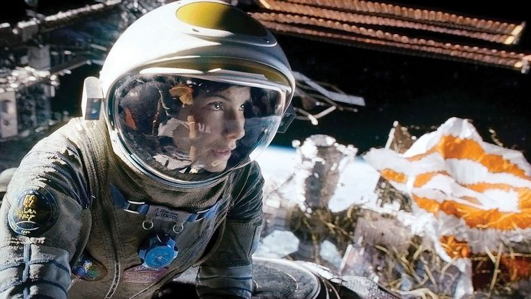 Sandra Bullock in 'Gravity' van Alfonso Cuarón. Beeld