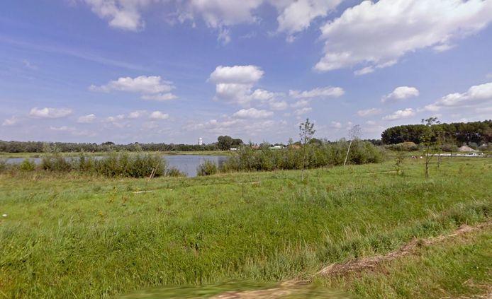 Het gebied tussen Raamsdonksveer en Oosterhout.
