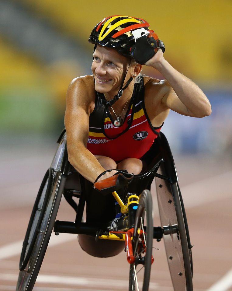 Marieke Vervoort maakt kans op de titel Paralympiër van het Jaar Beeld GETTY