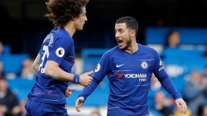 VIDEO. Eden Hazard redt punt voor Chelsea met heerlijke streep