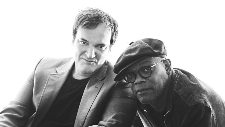 Quentin Tarantino (links) en Samuel L. Jackson. Beeld Getty Images