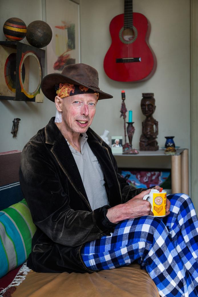 Frank van Empel in 2015, toen hij op de foto ging voor een verhaal in het Brabants Dagblad over zijn ziekte Parkinson.