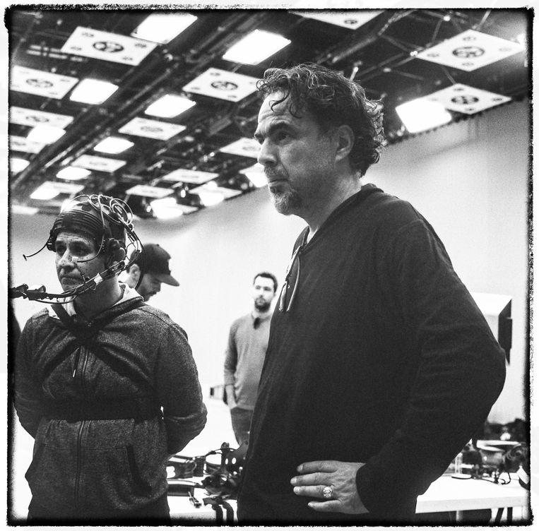 Iñárritu (rechts). Beeld