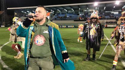 Carnavalsmatch Eendracht Aalst: Voil Jeanetten en prins Yvan starten de festiviteiten