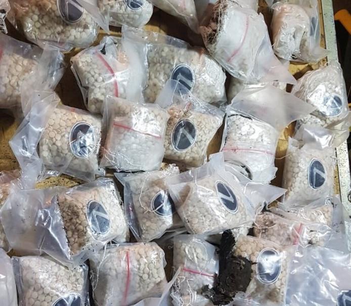 De 534 kilo aan ametamine heeft een straatwaarde van ruim 26 miljoen euro.