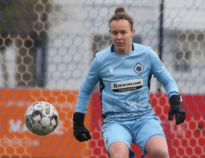 Elke Geeraert hield dit seizoen al vier keer de netten schoon bij Club YLA.