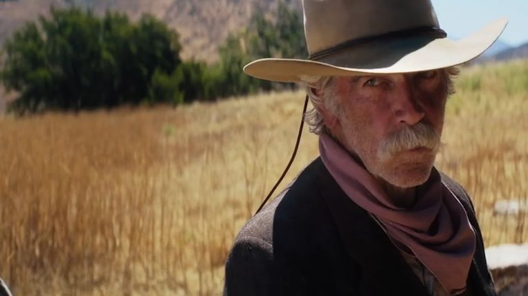 Sam Elliott in The Hero. Beeld