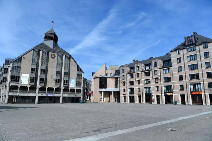 Louvain-la-Neuve désertée