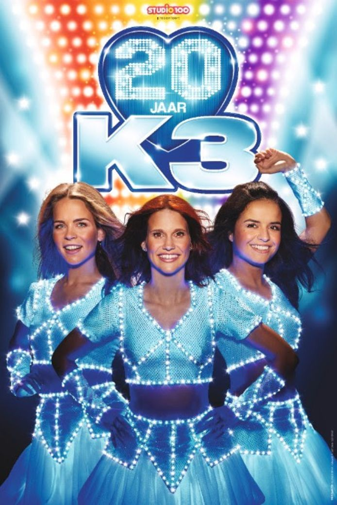 K3 viert 20 jaar muziek.