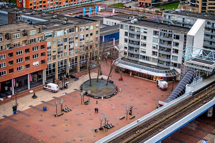 Een van de ideeën voor de toekomst van Capelle is stedelijke zones rondom OV-punten. Zoals hier, in het stadscentrum.