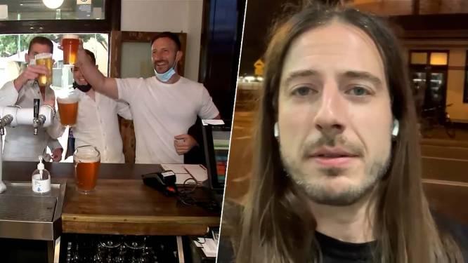 """""""Sfeer is echt euforisch"""": Belg in Sydney verlaat even stamcafé voor gesprek over 'bevrijdingsdag'"""