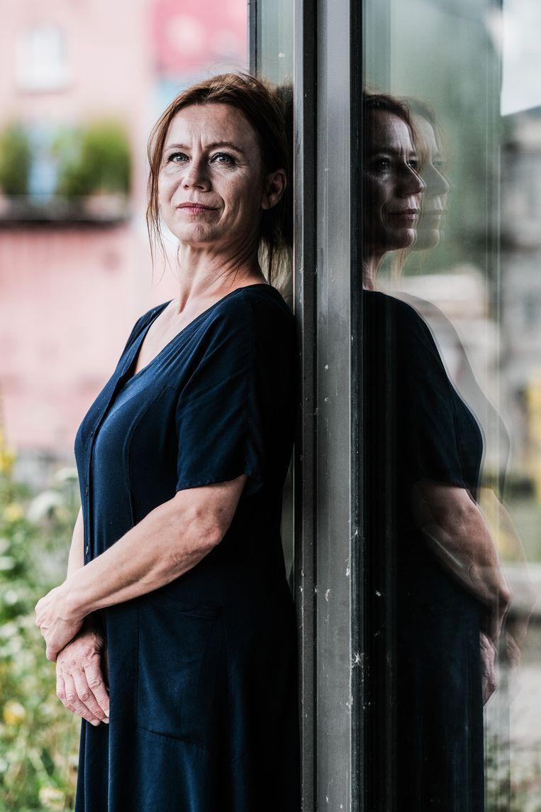 Bundervoet: 'Werken op de palliatieve afdeling was een heel bewuste keuze. Ik zoek altijd het existentiële op, ook als actrice.' Beeld Bob Van Mol