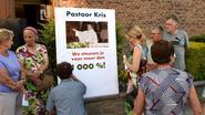 Parochianen blijven pastoor Kris trouw