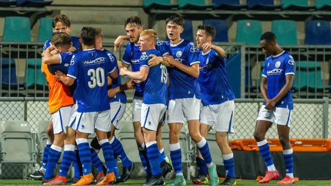 FC Den Bosch vloert koploper Jong AZ door twee goals van goudhaantje Roy Kuijpers
