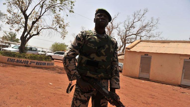 Een soldaat in Mali. Beeld afp
