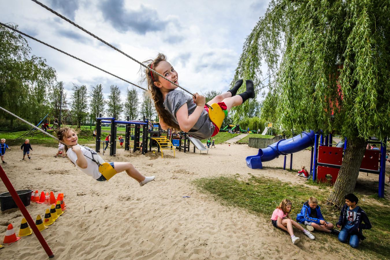 Kriebels in de buik op de buitenspeeldag in Veurne