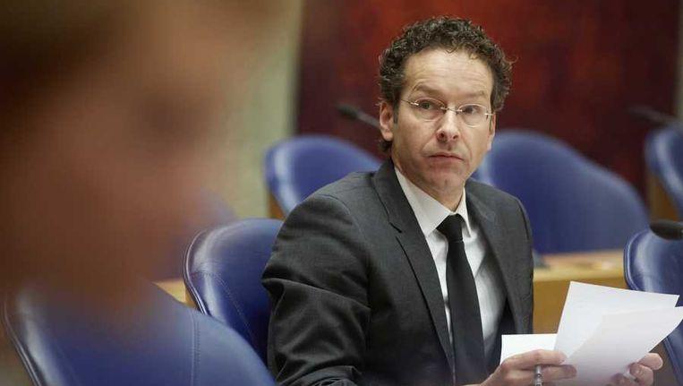 Minister Jeroen Dijsselbloem van Financien. Beeld anp