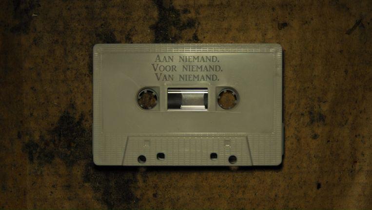 Kates Tapes Away van Theater Zuidpool, een audiovoorstelling van actrice Sofie Decleir Beeld