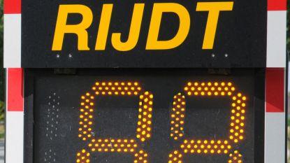 Smileyborden wijzen bestuurders op hun snelheid
