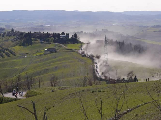IN BEELD. Ook het Toscaanse landschap imponeert: Strade Bianche staat opnieuw garant voor schitterende plaatjes