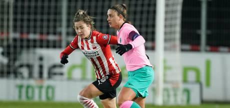 PSV'er Nurija van Schoonhoven geniet van elke wedstrijd die ze mag spelen en tegen Barcelona nog wat extra