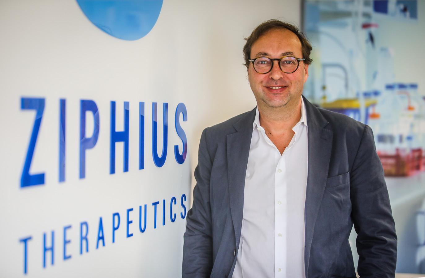 Chris Cardon van het Oostkampse bedrijf Ziphius Therapeutics.