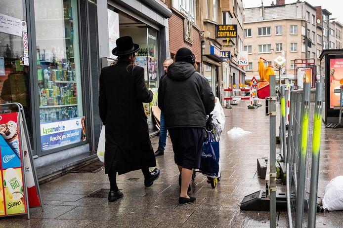 Joden in Antwerpen.