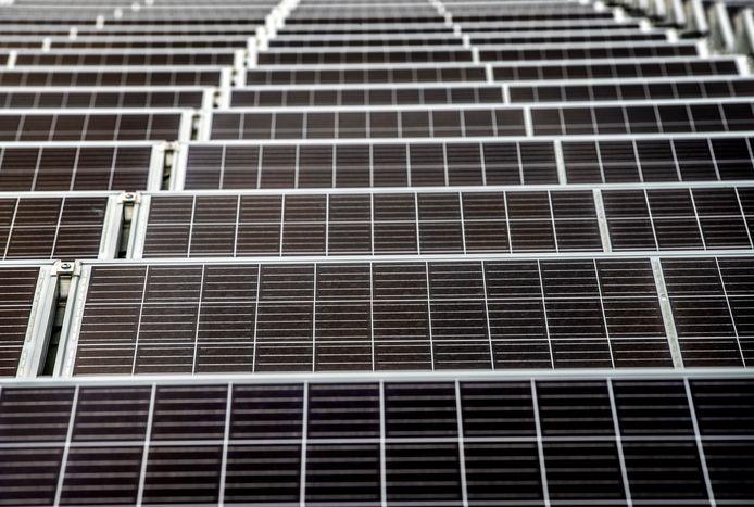 Waar komen de zonnepanelen te liggen?
