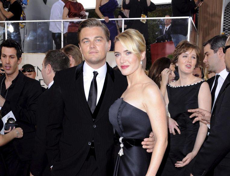 Leonardo DiCaprio en Kate Winslet in 2009. Beeld Belgaimage