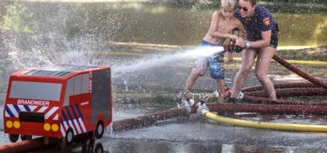 Verkoelende maatregelen tijdens vakantiespelen door extreme hitte