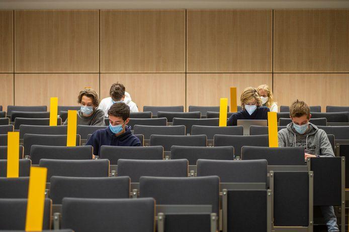 Studenten aan de Universiteit Antwerpen