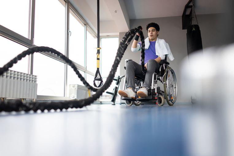 Reade is behalve een revalidatiecentrum ook een sportcentrum voor mensen met een fysieke beperking. Beeld Getty Images