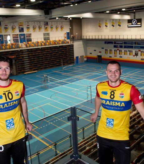 Apeldoornse topvolleyballers De Weijer en Van Zeist willen prijs met Dynamo, maar waar spelen ze volgend seizoen?
