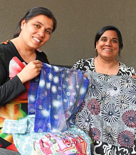 Ze weten het nu zeker: ze zijn volle zussen en zetten zich samen in voor hun geboorteland Nepal