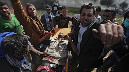 Opnieuw bloederig protest in Gaza: journalist en tiener (16) komen om, 1.354 gewonden