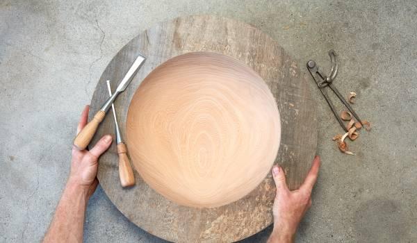 Rik Blaauw maakt hout, zo zacht als huid