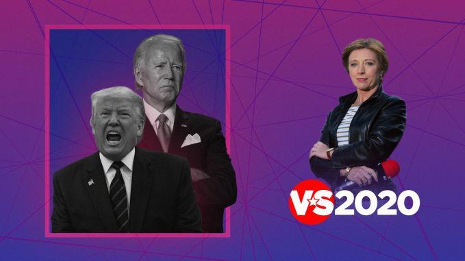 Greet telt af: hier gaan Trump en Biden met elkaar in debat