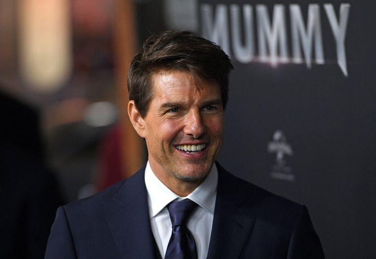 Tom Cruise werd verkozen tot 'slechtste acteur'. Beeld EPA