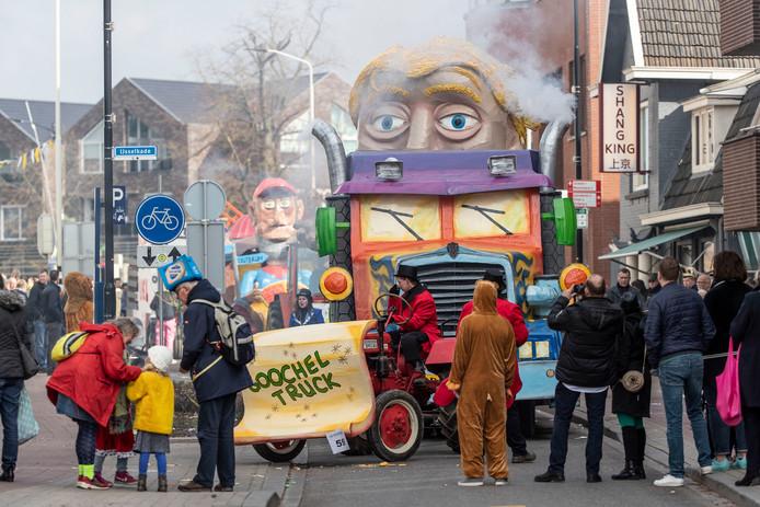 De carnavalsoptocht in Doetinchem in 2019. Archieffoto: Jan Ruland van den Brink