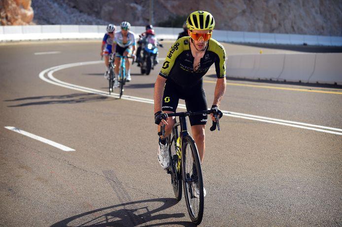 Adam Yates schreef vorig jaar de ingekorte versie van de UAE Tour op zijn naam.