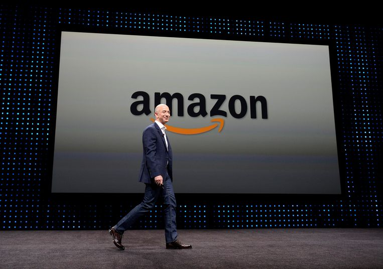 Jeff Bezos, CEO van Amazon Beeld EPA