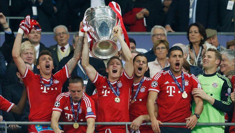CL-winnaar Bayern München moet pas vanaf de halve finales aantreden. Beeld PHOTO_NEWS