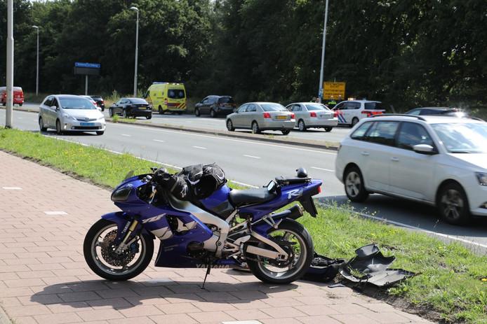 Ongeval op Midden-Brabantweg.
