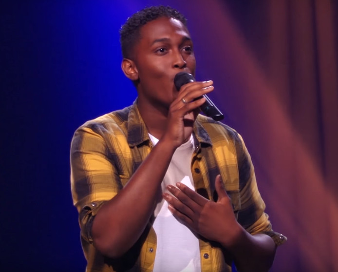 Lyall in The Voice.