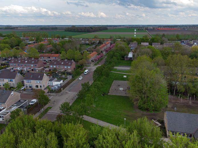 De 'Tollebeker Jachtweide' moet komen op het terrein tussen de twee basisscholen in  Tollebeek.