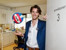 Volleyballer Hugo is ook huisarts in coronatijd: 'De overheid moet meer investeren in preventie'