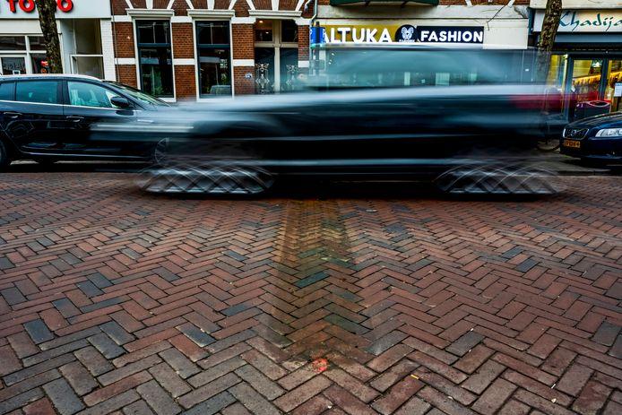 Op de Zwart Janstraat zijn per ongeluk alle verkeersdrempels weggehaald.