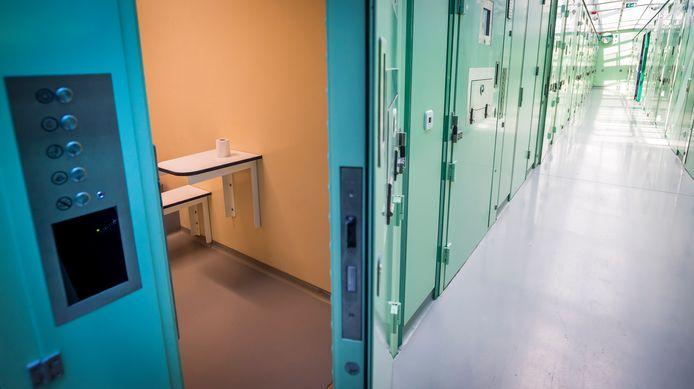 Een cel in een politiebureau. Foto ter illustratie.